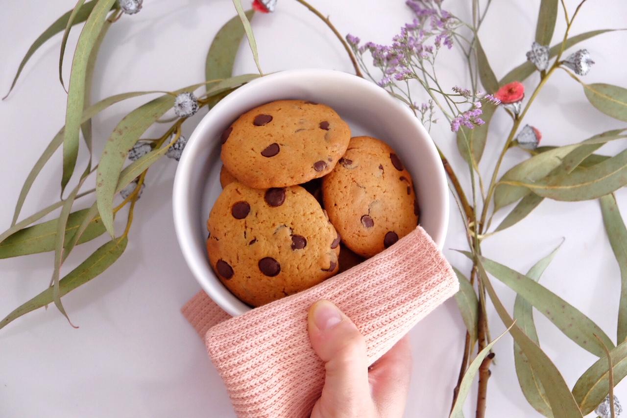 Délicieux cookies faits avec amour