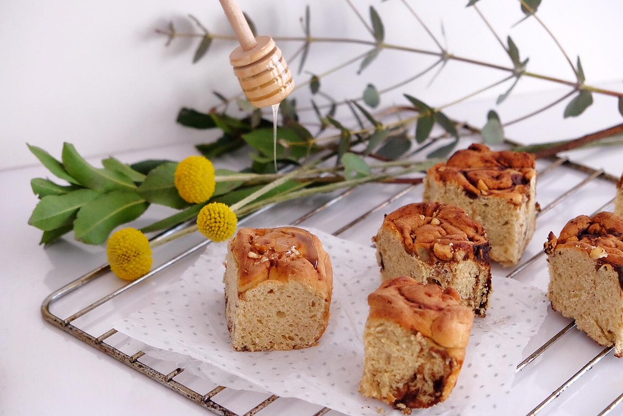 Homemade brioche Bread rolls