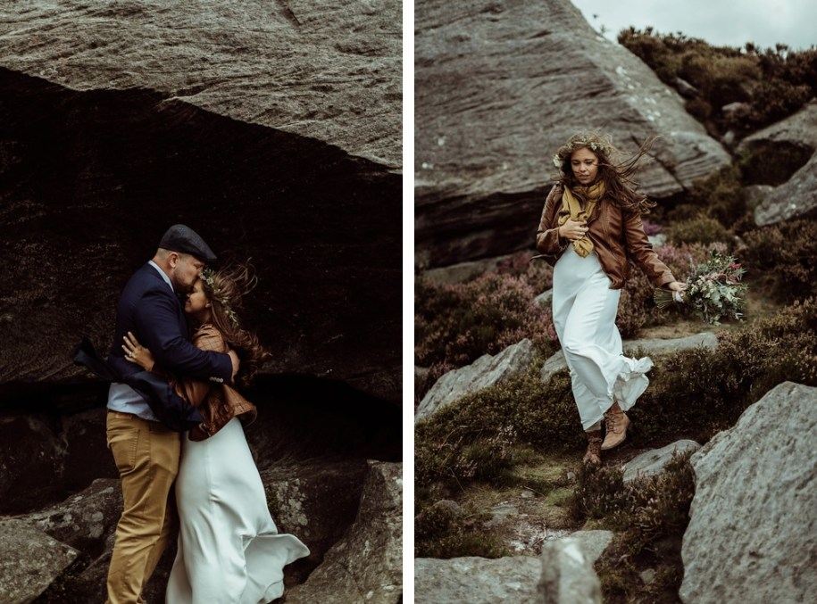 Northumberland elopement photography