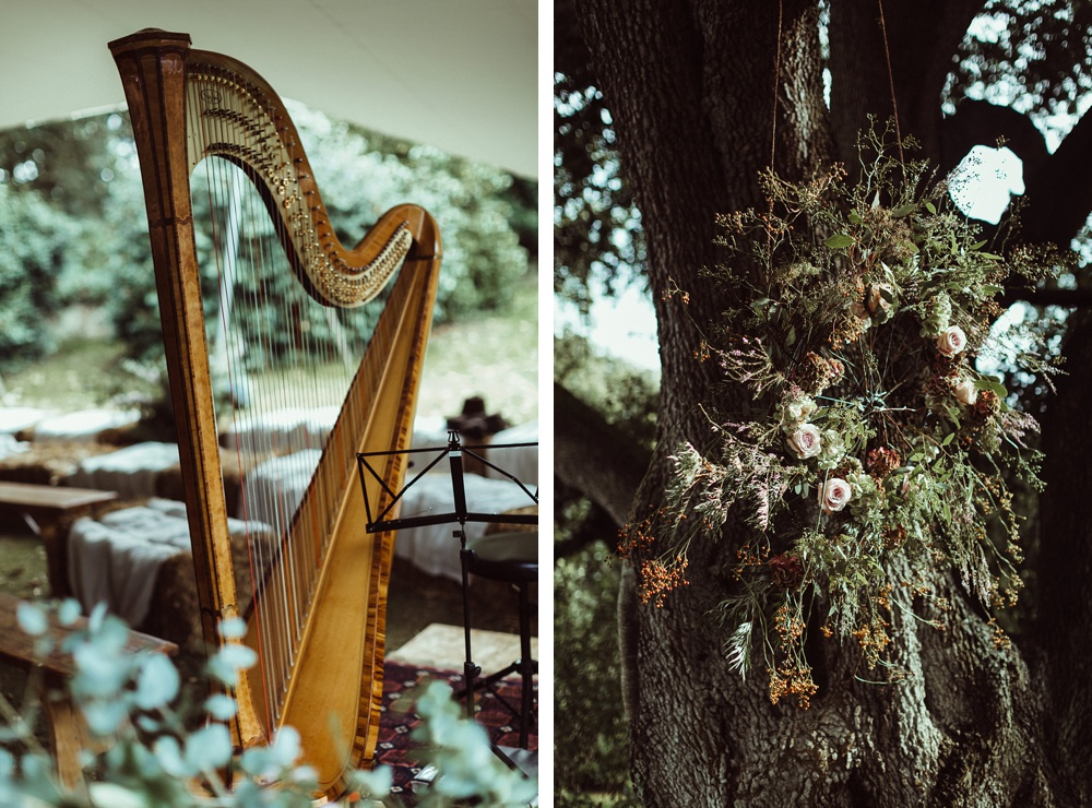 wedding details for New Forest wedding ceremony