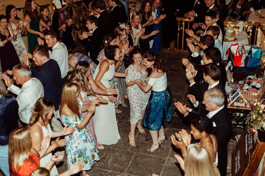 Cotswolds wedding dance at reception