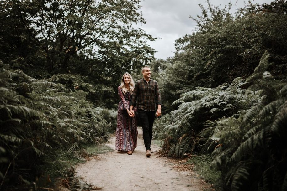 Engagement photographer richmond