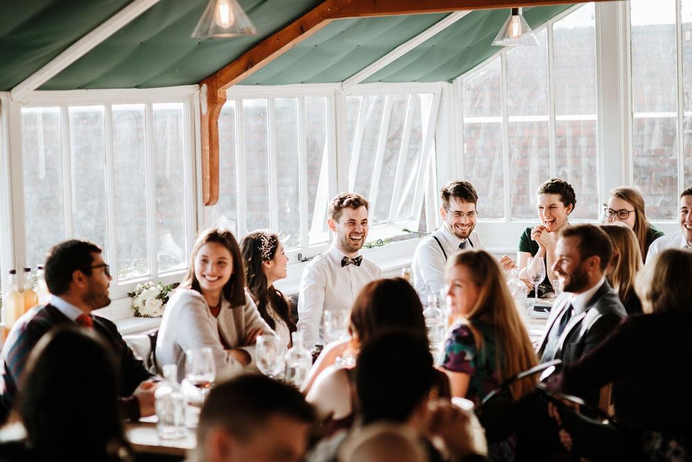 the ethicurean wedding reception Bristol