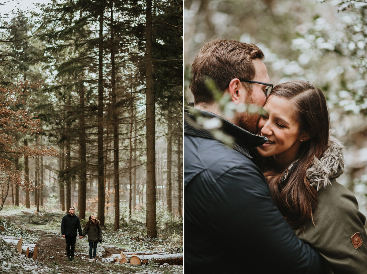 Wyre Forest engagement photographer