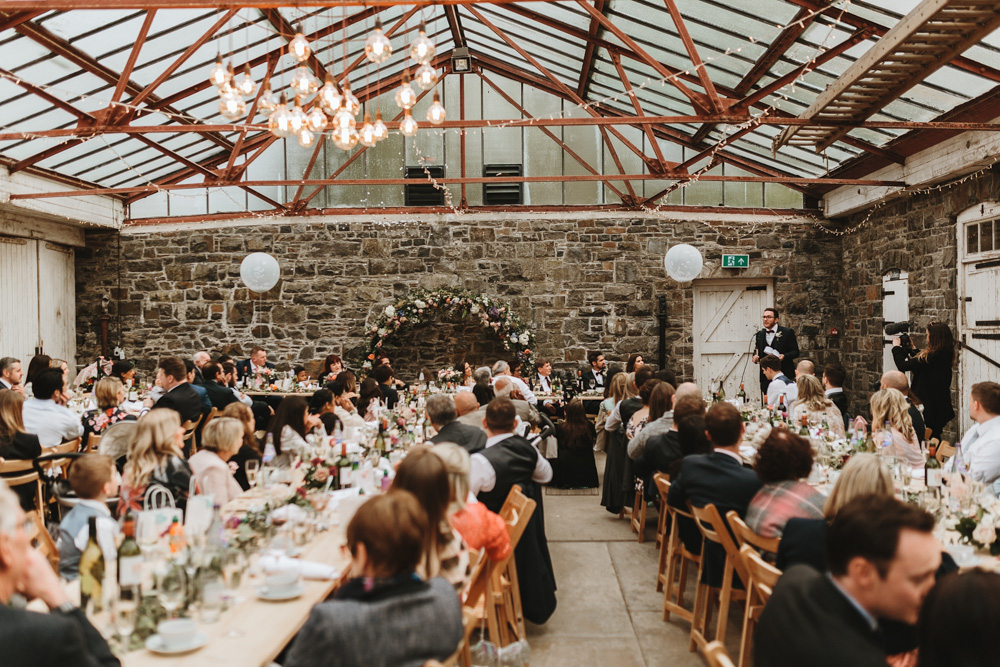 plas dinam country house wedding reception in Wales