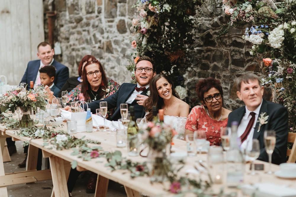 plas dinam country house wedding reception speeches