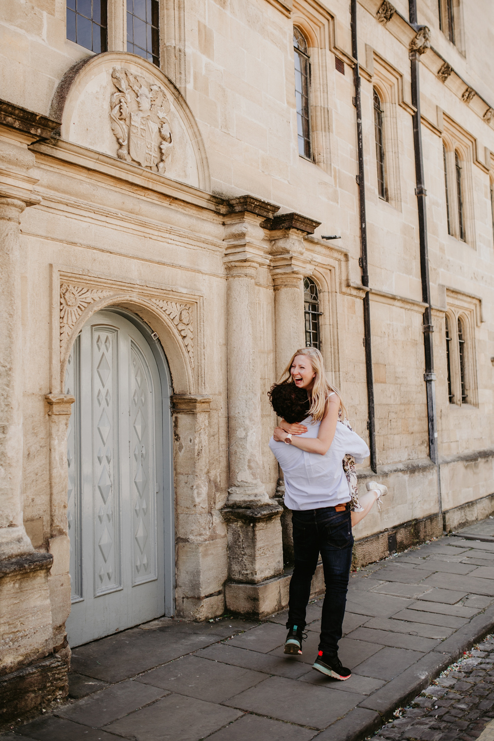 engagement photos by Oxford wedding photographers