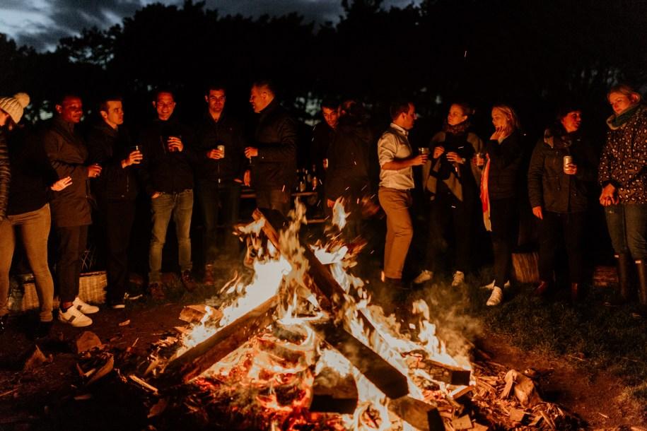 bonfire wedding reception ideas for outdoor weddings or events