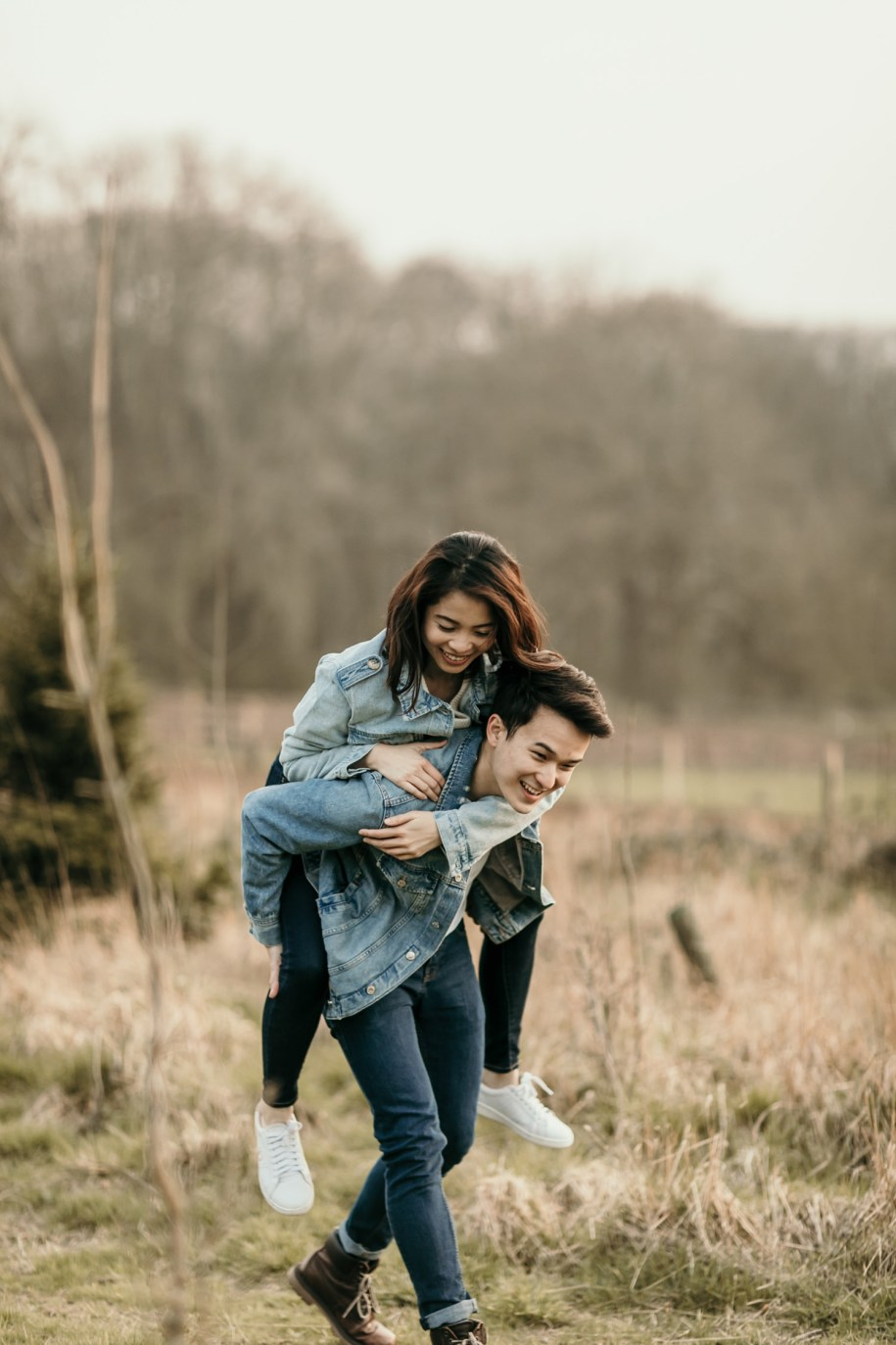 Cotswolds engagement portraits
