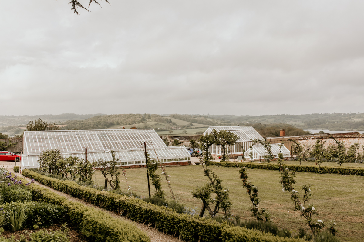 greenhouse at Coombe Lodge Blagdon