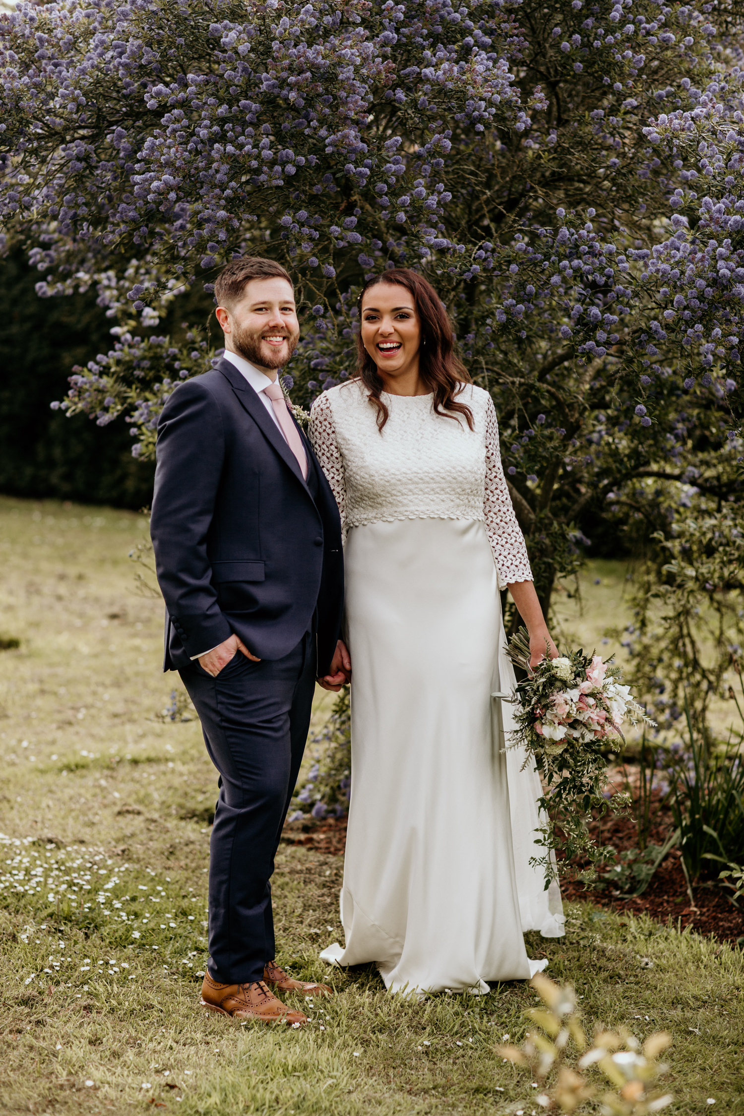 bridal portraits for a Coombe Lodge Blagdon wedding by somerset photographer