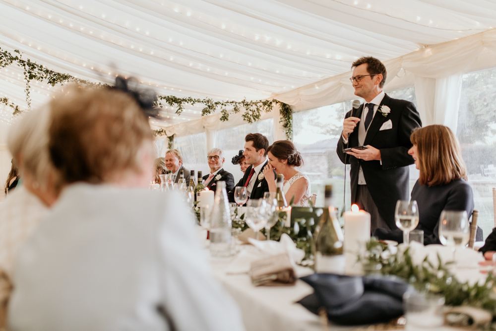 father of the bride speech for their Poulton wedding
