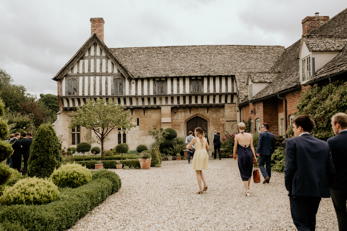 private gardens of priors court barn wedding venue