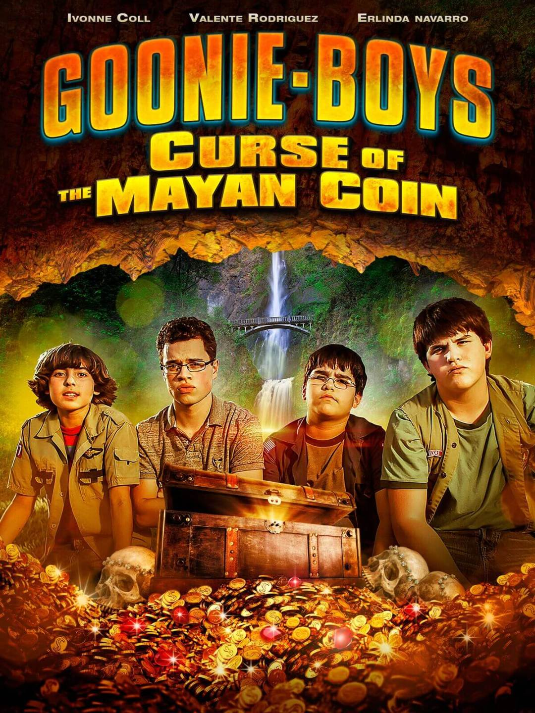 GOONIE BOYS: CURSE OF THE MAYAN COIN