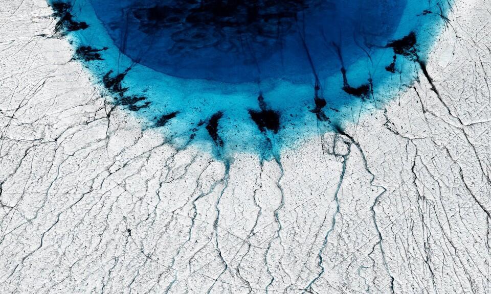 Estas preocupantes imágenes muestran los efectos del calentamiento global en el Ártico