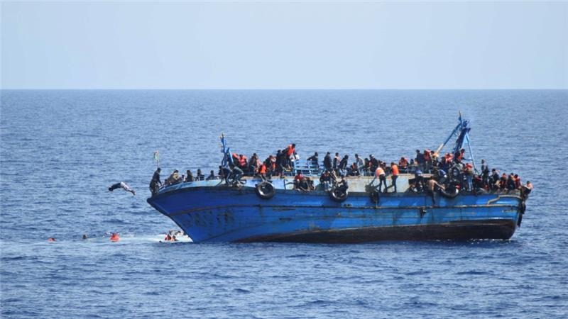 6,000 people rescued from the Mediterranean