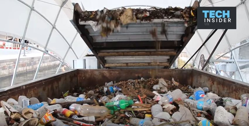 Baltimore's solar-powered waterwheel has removed 1.1 million lbs of rubbish from the river