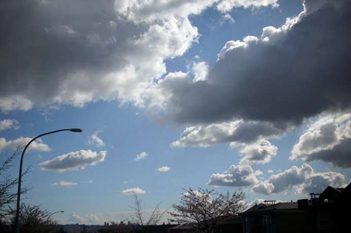 الطقس غدا غائم مع امطار محلية وانخفاض في الحرارة