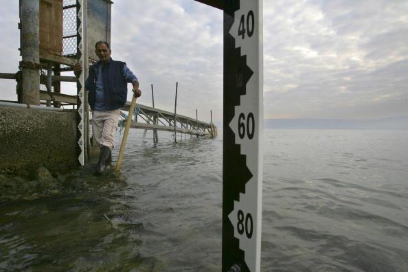 بحيرة طبريا تنازع .. فهل تلفظ قطراتها الأخيرة ؟