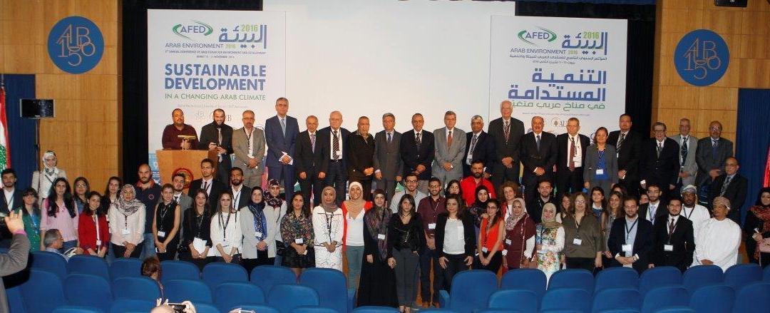 المؤتمر السنوي العاشر للمنتدى العربي للبيئة والتنمية يعقد مؤتمره السنوي في البريستول