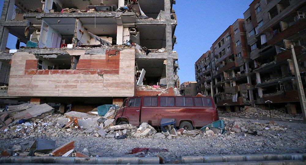 انتهاء عمليات الإنقاذ في المناطق المتضررة بزلزال إيران