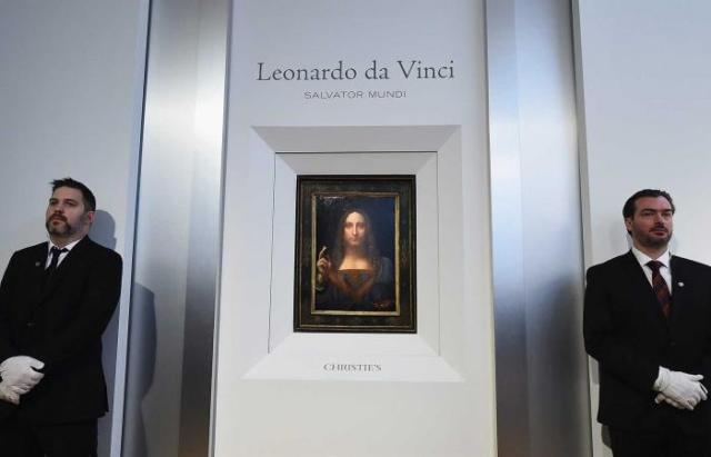 لوحة للمسيح تباع بمبلغ 450.3 مليون دولار