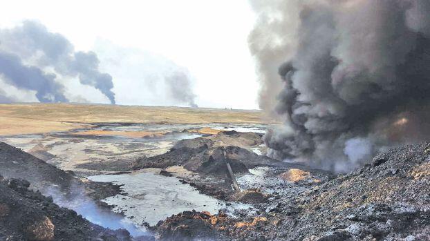 الآثار البيئية الكارثية للحرب في العراق