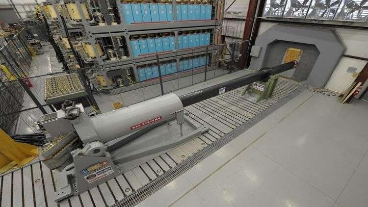 روسيا تحقق تقدما في تطوير مدفع كهرومغناطيسي