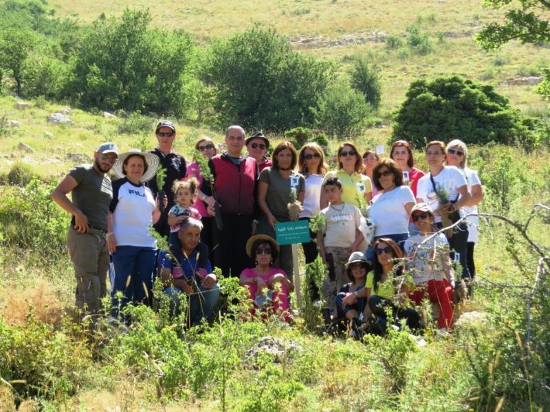 إطلاق غابة للممرضات في محمية إهدن