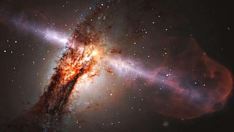 العثور على أسطع جسم في الكون الأولي