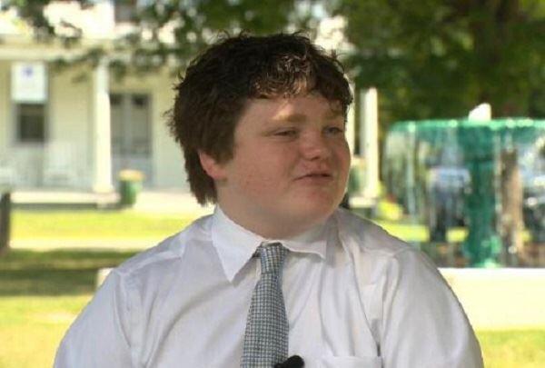 ابن الـ 14 ربيعاً يترشح لمنصب حاكم ولاية فيرمونت!