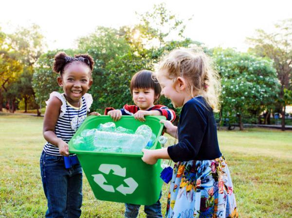 Reducir, reutilizar y reciclar,, la 3R magica