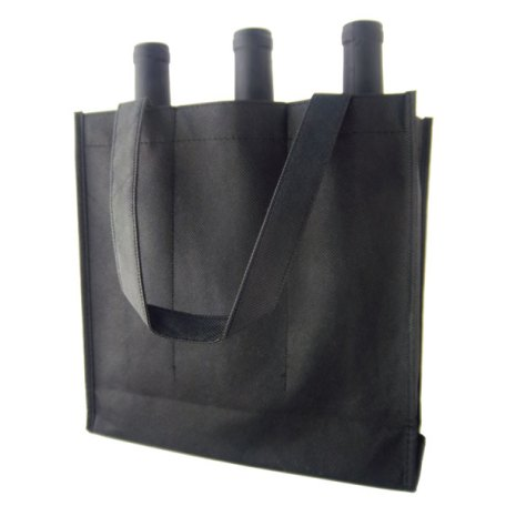 3Btl-plain-black-wine-bag