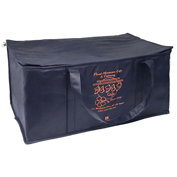 Eco-friendly insulated catering bag
