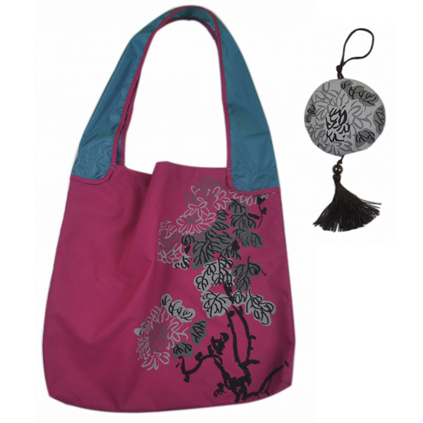 Eco-friendly chrysanthemum folded bag