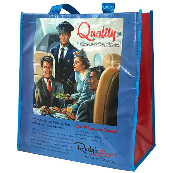 Full Color Jumbo Grocery Bag