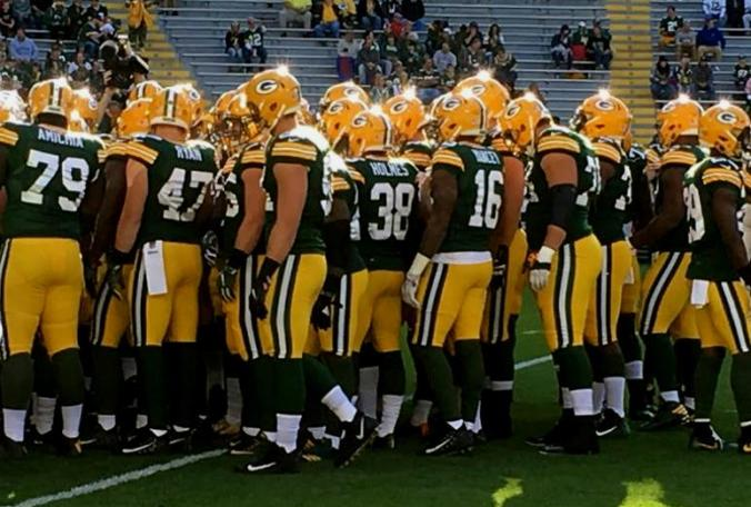 Green+Bay+Packers+on+field+-+final+preseason+game+-+some+players+may+not+be+on+roster+in+future+08312017