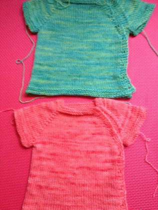 Baby sweaters galore!