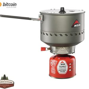 MSR Reactor 2.5L Stove Overland Stove Camping Stove