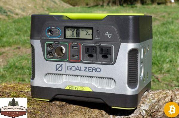 Goal Zero Yeti 400 Power Station Portable Solar Power