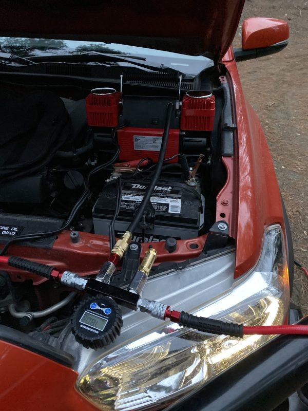 Desert Armor Baller EZ Air Tire Infalte Deflate System Overland 4 tire air up