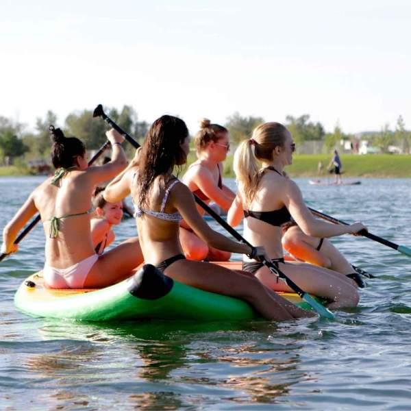 SOLFiesta Classic Multiperson Paddleboard Greenbelt