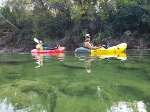 Barton Creek Greenbelt Packraft Tour Austin