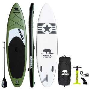 Atoll Paddle Board Green