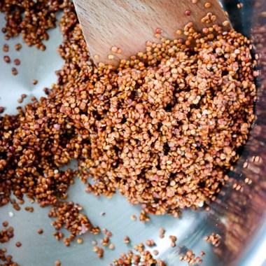 Hvordan koke perfekt quinoa?