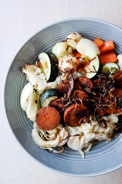 Ikke kast mat! Alt trenger ikke være en oppskrift-oppskrift for å være en supergod middag. Restefest, rett og slett!