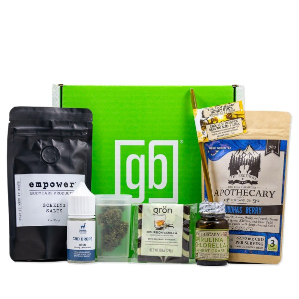 Green Box Premium Hemp Subscription Box