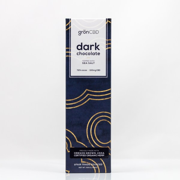 Grön CBD Dark Chocolate Bar