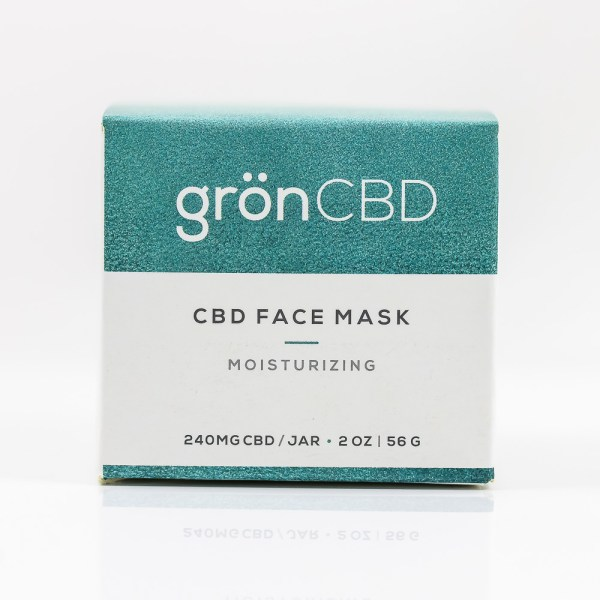 Grön CBD Face Mask Moisturizing