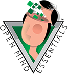 Open_MInd_Essentials-Vert- Green Brain Design Factory - Pittsburgh Logo Design